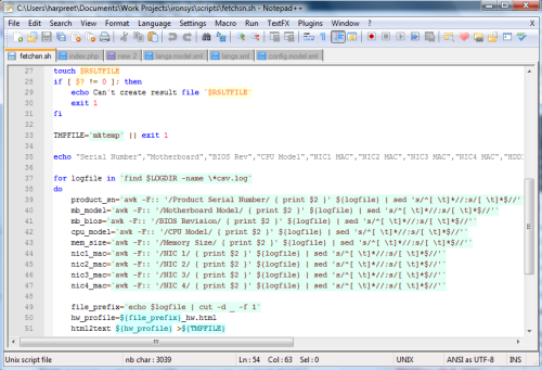 Notepad++ in Action